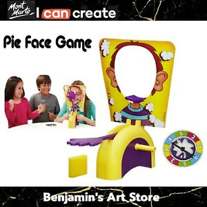 Au Pie Face Game Family Fun Filled Rocket Board Game Suspense Party Xmas Gift