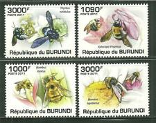 BURUNDI 882-85MNH HONEYBEES SCV 15.00