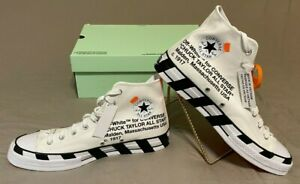 OFF-WHITE Converse Chuck Taylor 70's Hi- New Mens Shoes Size 11 ~FREE SHIPPING~