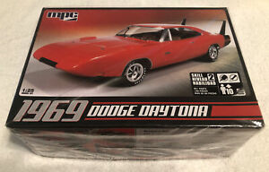 MPC 1969 Dodge Daytona Charger 1/25 Body Kit Only. THIS IS NOT A COMPLETE KIT.