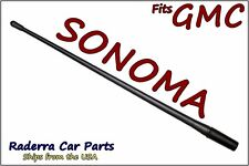 "FITS: 1982-2004 GMC Sonoma - 13"" SHORT Custom Flexible Rubber Antenna Mast"