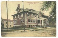 Kindergarden School Mechanic Street Jackson MI Michigan  Postcard
