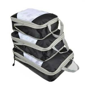 Storage Pouch Compression Packing Cubes Waterproof Nylon Foldable YD