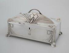 Jugendstil WMF Silverplate Jewelry Box Casket