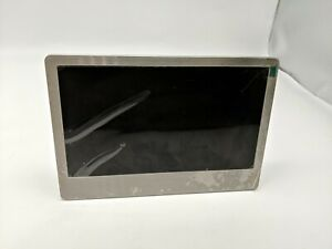 Sylvania 7 Inch Stainless Steel Digital Photo Frame w/ LED Screen,no power cable