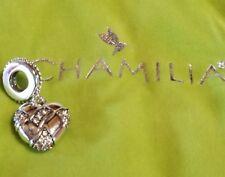 Brand New Chamilia pave woven heart 2025-1339