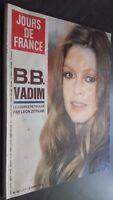 Revista Mensual N º 927 Días de France Brigitte Bardot 1972 Buen Estado Infolio