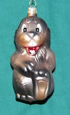 Christbaumschmuck Affe Figur aus Glas Baumschmuck Weihnachtsfiguren