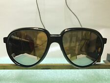 Vintage BOLLE Acrylex Crevasse Glacier Sunglasses Climbing Mountaineering Shield