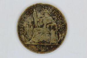 1887A French Indo-China Piastre (KM# 5)