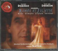 Charles Gounod Romeo et Juliette 2 CD set RCA 1996 Slatkin Domingo Swenson
