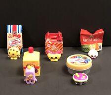 Shopkins Mini Packs Season 10~Lot Of 5 Shopkins + Packages~Rare & Common