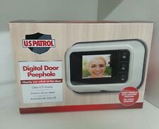 U.S. Patrol DIGITAL DOOR PEEPHOLE - Video Clearly Shows Who Is At Door