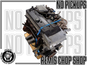 Barra Engine BF XR6 Petrol 6 Cylinder Motor 200,000kms Tested - Remis Chop Shop
