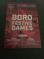 Scarborough Athletic V Tadcaster Albion/clitheroe 2017 Soccer/football Programme
