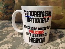 MUG - GENDARMERIE NATIONALE même les policiers ont besoin de héros - humour