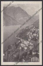 COMO BLEVIO 10 LAGO Cartolina 1943