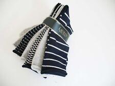 Ralph Lauren Womens Roll Top Trouser Socks 6 Pack  Navy Asst - New