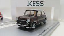 """KESS MODEL 1/43 Innocenti Mini Cooper Export 1.3 """"1973"""" Brown Art. KE43012031"""