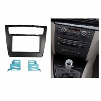 2 Din Radio Fascia for BMW 1-Series E81 E82 E87 E88 Stereo Panel Trim Kit Plate