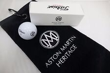 Aston Martin Heritage Golf Ball & Towel Set