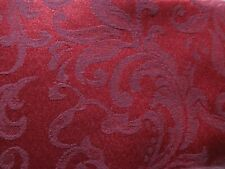 """Living Quarters Holiday Damask Tablecloth Cherry Red 60"""" X 120"""" Oblong NWT"""