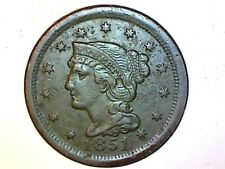 1851 Large Cent Very Nice Coin 821