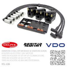 DFI MODULE, IGNITION COILS & LEADS V6 ECOTEC 3.8L [HOLDEN VS-VT-VX-VY COMMODORE]