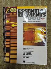 Essential Elements 2000 Plus Dvd - Percussion Book 1