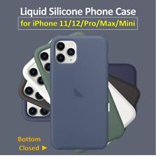 Para IPHONE 11 / 12  ► Funda de Silicona Genuina Original. Cubierta CERRADA 360º