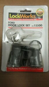60s 70s FORD MUSTANG MERCURY COUGAR GALAXIE 500 BRONCO LTD F100 DOOR LOCK SET