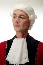 perruque carneval baroque K & K Noble Officier boucles blond blanc