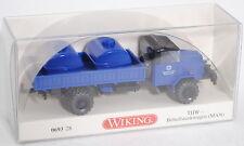 Wiking 069328 THW - MAN 630 L2A Behelfstankwagen THW Technisches Hilfswerk 1:87