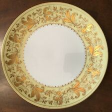 Le Tallec Plates Limoges France Porcelain Hand Painted Set of 6