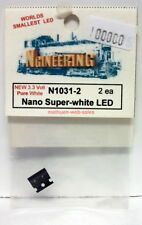 Ngineering~#N1031-2~Nano Super-white LED~2 Pieces~3.3VDC,20Ma~NOS