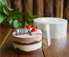 Soft 200m Roll Of Transparent Mousse Cake Surrounding Edge Wrapping Tape Plastic