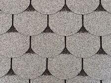 Dachschindeln 24m? Biberschindeln Grau (8 Pakete) Schindeln Dachpappe Biber