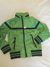BNWT JERSEY LINED JACKET WITH CONCEALED HOOD AGE 6 FROM MARKS AND SPENCER