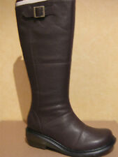 Wedge Wide (E) Low Heel (0.5-1.5 in.) Boots for Women