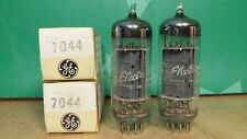 Pair of GE 7044 NOS NIB Vacuum Tubes