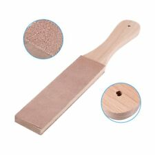 1 x Wooden Leather Craft Polish Sharpening Strop Sharpener Craft Double Sided US