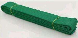 New Taekwondo Belt Karate Martial Arts MMA Hapkido Double Wrap Green Belt Size 4