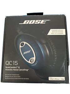 Bose ® - Limited Edition QuietComfort® 15 Noise Cancelling® Headphones Blue New