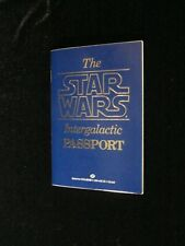 The Star Wars Intergalactic Passport first edition May 1983