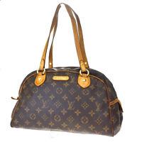 Authentic LOUIS VUITTON Montorgueil PM Tote Shoulder Bag Monogram M95565 31BQ528