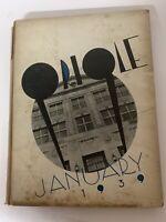 Vintage School Yearbook 1939 ORIOLE EVANDER CHILDS HIGH SCHOOL New York City NY