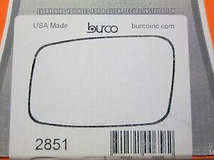 VOLVO S40 V40 S70 V70 FITS LEFT DRIVER SIDE BURCO MIRROR GLASS # 2851