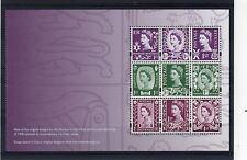 GB 2008 REGIONAL 50TH ANNIVERSARY - WILDINGS BOOKLET PANE SG NI 112A (Cat £14)UM
