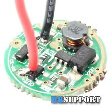 17mm 1A 3.6V AA 3 Mode - LED Flashlight Boost Driver Circuit Board