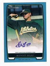 Blue 45/500 SONNY GRAY 2012 Bowman Autograph Auto Baseball Rookie Signed Card RC